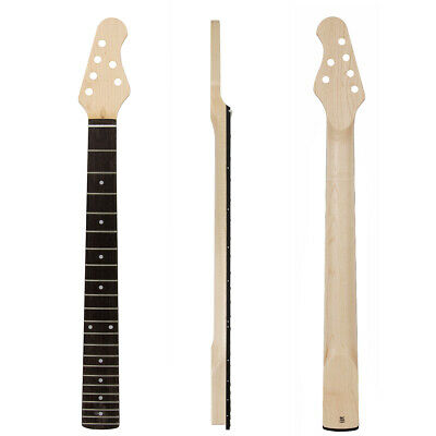 Kmise Electric Guitar Neck Canada Maple 22 Fret Bolt on Clea