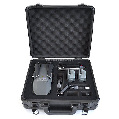 For DJI Mavic Pro Drone 4K HD Camera Quadcopter Hard Case Bag Box Parts & Accss