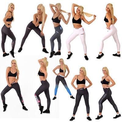 Damen Sportleggings für Frauen Leggings Laufleggings Jogging Fitness Lauflegging