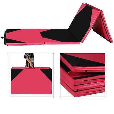 Folding Gymnastics Gym Exercise Aerobics Mats 4'x10'x2