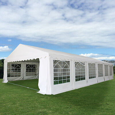 20'X40' Wedding Tent Shelter Heavy Duty Outdoor Party Canopy Carport White