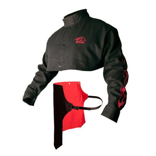 Revco Black Stallion BSX Advanced FR Cotton Cape Sleeves w/Bib (XLarge) (BX21CS)
