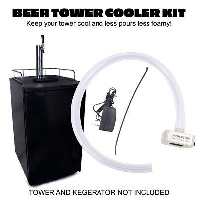 Beer Kegerator Tower Coolerfan