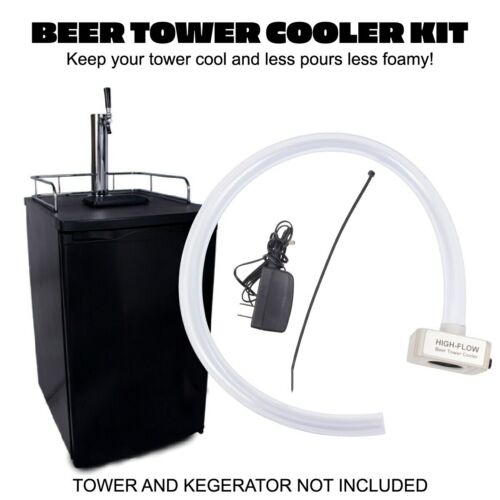 Beer Kegerator Tower Cooler/Fan