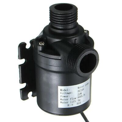 Dc 24v Hot Water Circulation Pump Solar Water Pump Brushless Motor 5m Lift Us