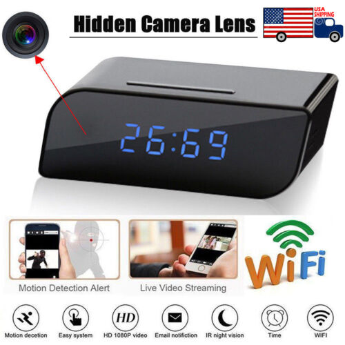 1080P Wireless Hidden Spy Camera Mini Micro DVR WIFI Securit
