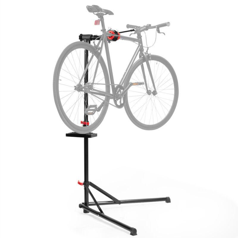 Bike Repair Work Stand Telescopic Arm Cycling Bicycle Rack Adjustable Holder