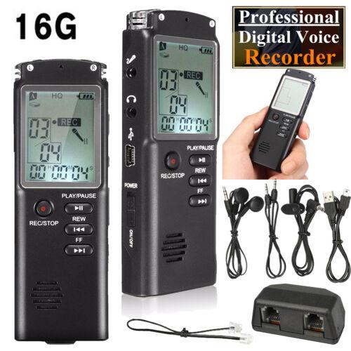 Mini 8GB Diktiergerät USB Digital Audio Voice Recorder Aufnahmegerät Handgerät