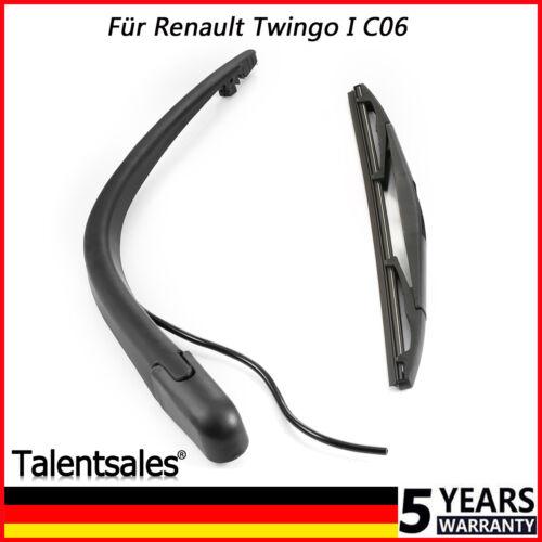 Heckwischerarm Für Renault Twingo Hinten Renault Twingo Scheibenwischer