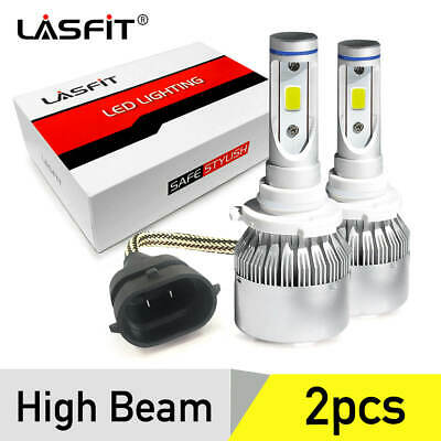 LASFIT 9005 HB3 LED Headlight Bulb High Beam Conversion Kit 6000K 7600LM White