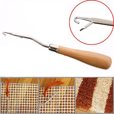 "6.22"" Weaving Latch Hook Crochet Needle Knitting for Braid Craft Handle Tool"