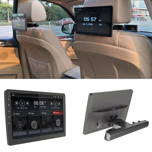 "10.1"" Android 8.1 HD Touch Screen Car Player Headrest Monitor Wifi Mirror Link"