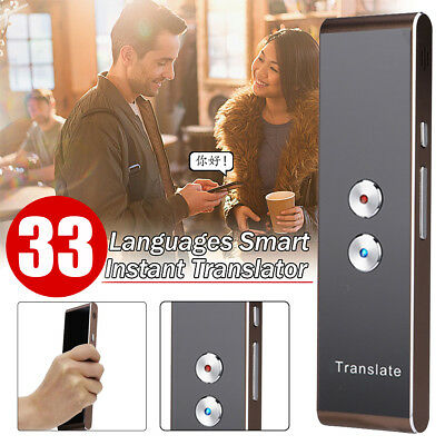 Easy Trans Smart Language Translator Instant Voice Speech Bluetooth 33 Languages