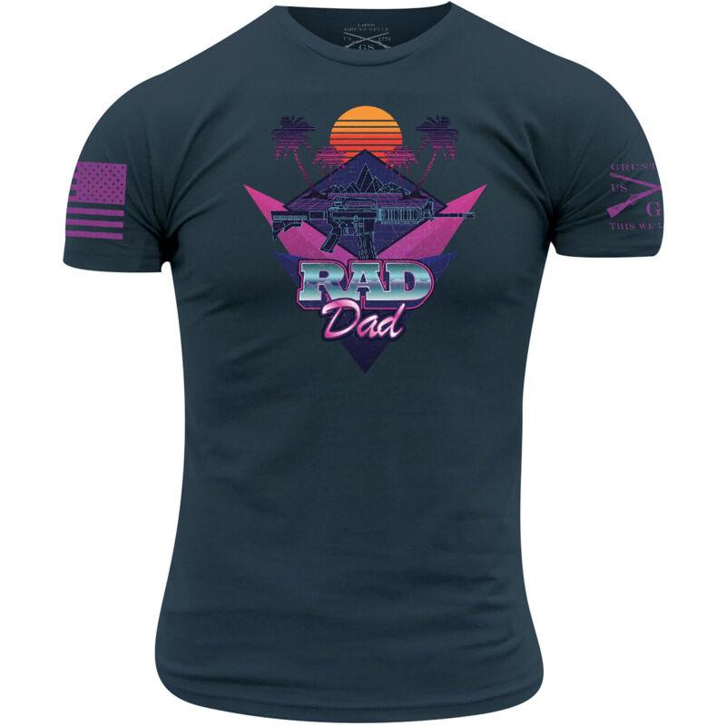 Grunt Style Rad Dad T-Shirt - Navy