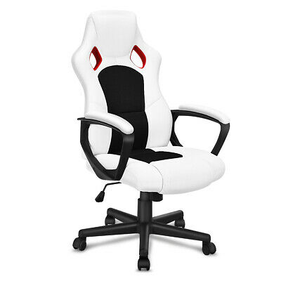 Executive Racing Style Chair High Back Bucket Seat Computer Office Desk Task New ()