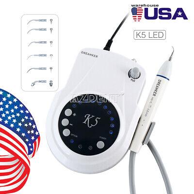 Dental Ultrasonic Scaler K5-led Piezo Endodontic Fiber Optic Handpiece 6 Tips