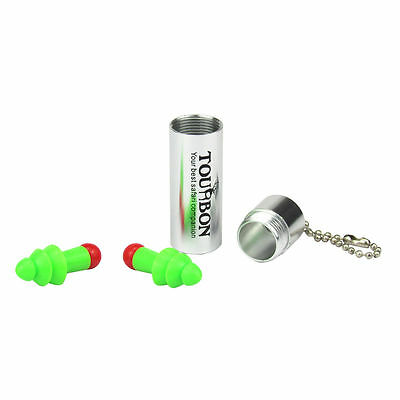Tourbon Hearing Protection Ear Plugs Working Noise Reducer Shooting Wcarry Case