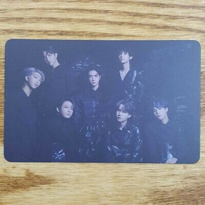 Group Cut Official Photocard BTS Map Of The Soul : 7 Version 2 Genuine Kpop