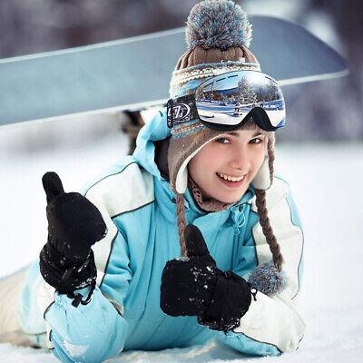 Ski Goggles Anti Fog UV Windproof  Snowboard Cycling Men & Women + Snow Googles