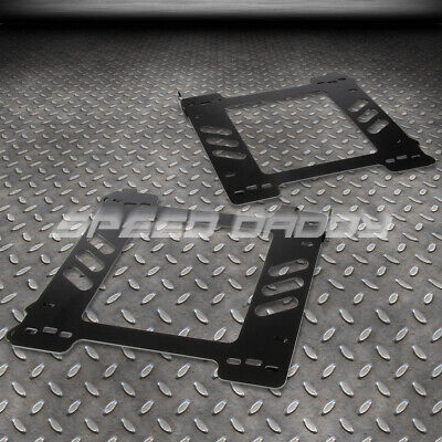 FOR 92-99 E36 2-DR COUPE LEFT+RIGHT PAIR RACING SEAT BASE MOUNT BRACKETS ADAPTER (Seat Base Adapter)