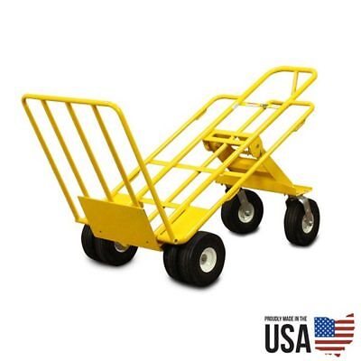 3 Position Multi Mover Xt Hand Truck Commercial Heavy Duty Dolly 1k Lb Capacity