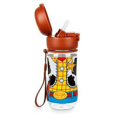 Woody Outfits Toy Story (Disney Toy Story 4 Woody Sheriff Outfit Flip-Top Water Bottle)