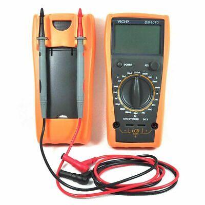 Professional Lcr Multimeter Inductance Capacitance Resistance Ohm Lc Dm4070