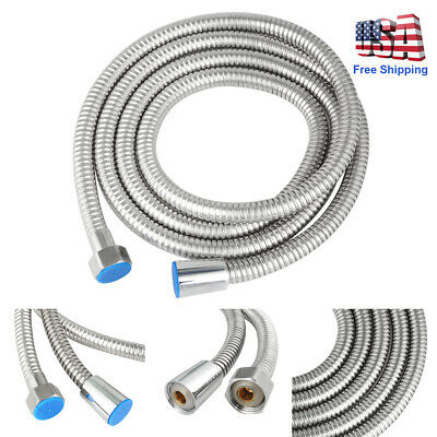 10ft Shower Head Hose Handheld Extra Long Stainless Steel Bathroom Flexible