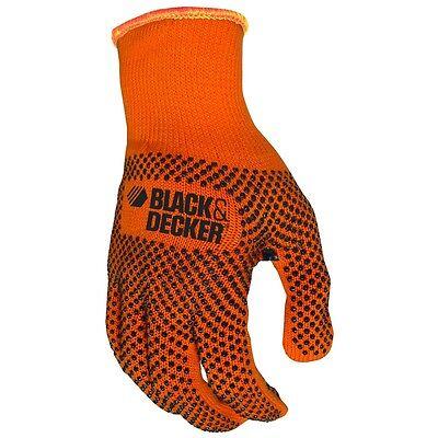 Black and Decker PVC Grip Gardening Work Gloves, Small