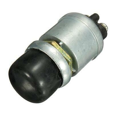 Heavy Duty Waterproof Car Boat Horn Engine Start Momentary Switch Push Button US
