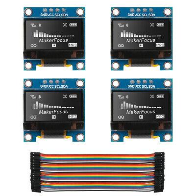 4 X 0.96 I2c Iic Serial Ssd1306 128 64 Oled Lcd Led Display Module For Arduino