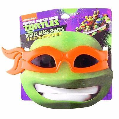Teenage Mutant Ninja Turtles Michelangelo Orange Kopftuch Kostüm Sonnenbrille