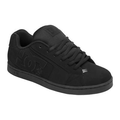 Dc Net Suregrip Mens Black Black Sneakers
