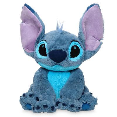 "NWT Disney Store Authentic Stitch Plush Doll Medium 15"" H Lilo & Stitch Toy"
