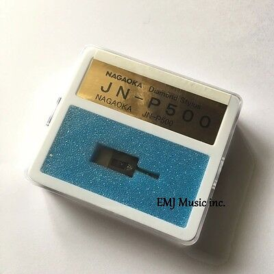 Nagaoka Replacement Stylus JN-P500 for MP-500 +PRESENT Genuine Free Shipping