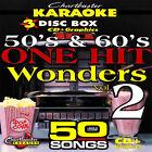 Oldies Karaoke CDGs, DVDs and Media