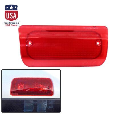 New 3rd Brake Light High Mounted Stop Lamp Lens for Chvey S10 GMC Sonoma 1994-03 ()