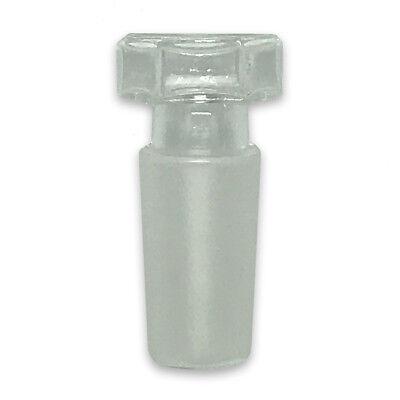 Ground Glass Stopper Hex Head 2440 Hollow Borosilicate Labware