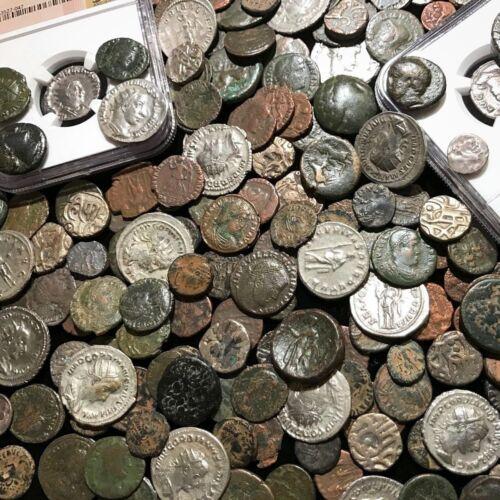✯Ancient Coin Estate Lot ✯ Roman Greek Byzantine✯ Bronze Silver Gold BC Money ✯