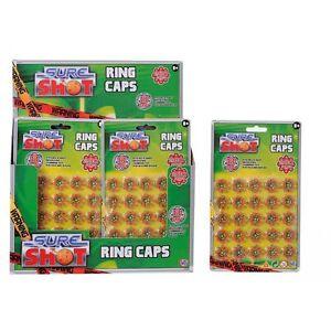 400 Shot Sure Shot Ring Caps 50 x 8 Fits all 8-rings shot Toy Guns Revolver