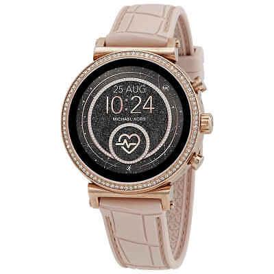 Michael Kors Access Gen 4 Sofie Rose Gold-Tone Smartwatch MKT5068