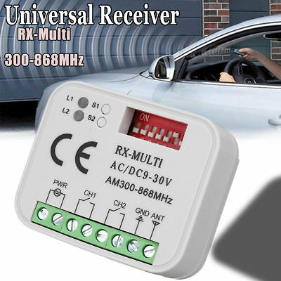 Universal Receiver Remote Control Compatible 300-868Mhz Marantec Nice Flors L60