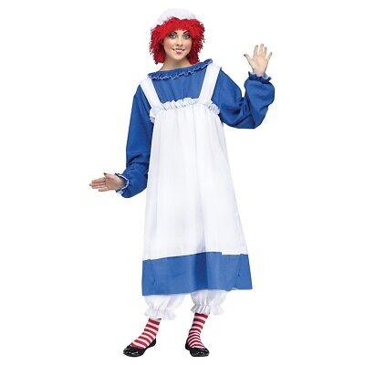 Adult Rag Doll Halloween Fancy Dress (Rag Doll Halloween Kostüm)