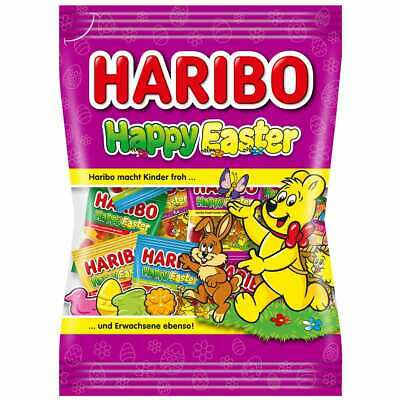 Made in Germany Haribo HAPPY Easter Mini Bags Mix gummy bears 250g FREE SHIP - Mini Gummy Bears