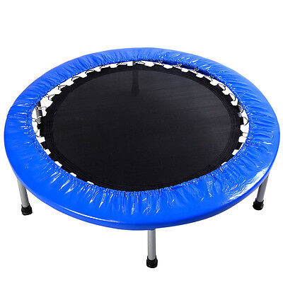 Купить New Mini Band Trampoline 38'' Safe Elastic Exercise Workout w/ Padding & Springs