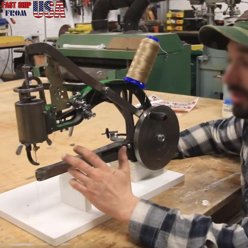 DIY Hand Cobbler Shoe Repair Machine Manual Shoe Mending Sewing Machine Upgrade