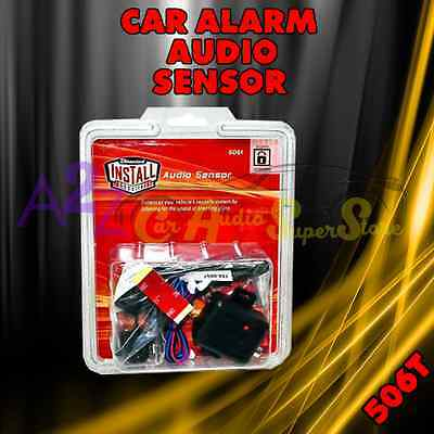 NEW DEI 506T GLASS BREAK WINDOW AUDIO CAR ALARM SENSOR VIPER CLIFFORD PYTHON