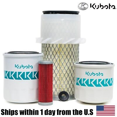 Genuine Oem Kubota B6200 B7100 B7200 Hst Filter Maintenance Kit
