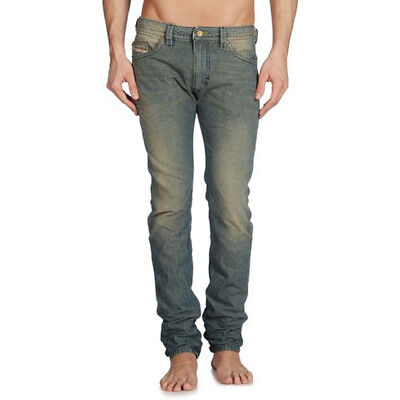 Diesel Jeans THAVAR 0810X Skinny Men Size 30 x 32 100% Cotton Made in ITALY $348