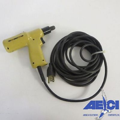 Standard Pneumatics 6600hd Electric Wire Wrap Tool-model 6021 With 20 6m Cord
